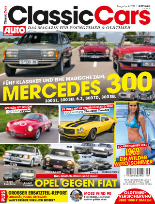 Auto Zeitung Classic Cars NR.09 2019