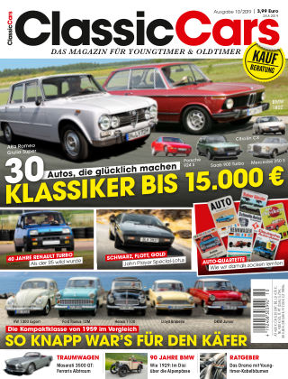 Auto Zeitung Classic Cars NR.10 2019