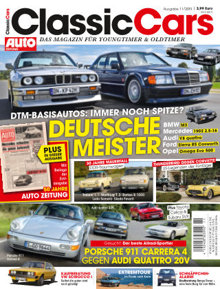 Auto Zeitung Classic Cars NR.11 2019