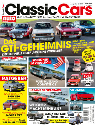 Auto Zeitung Classic Cars NR.12 2019