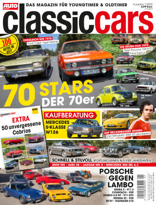 Auto Zeitung Classic Cars NR.01 2020