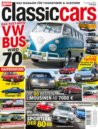 Auto Zeitung Classic Cars NR.03 2020