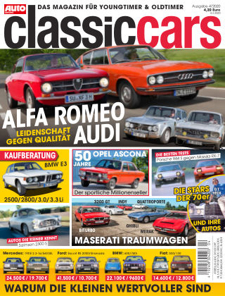 Auto Zeitung Classic Cars NR.04 2020