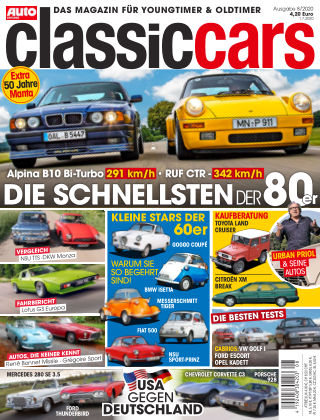 Auto Zeitung Classic Cars NR.08 2020