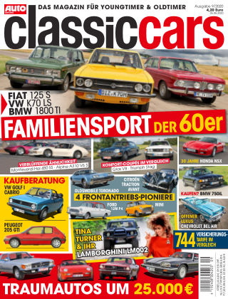 Auto Zeitung Classic Cars NR.09 2020