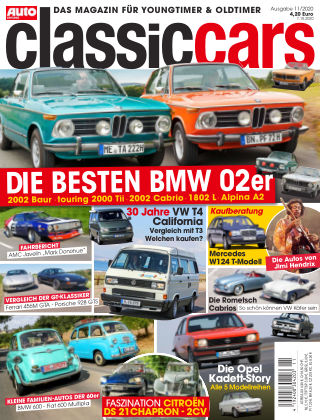 Auto Zeitung Classic Cars NR.11 2020