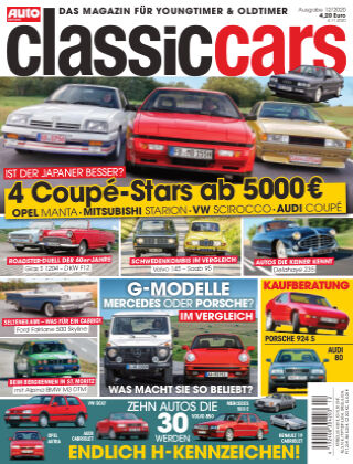 Auto Zeitung Classic Cars NR.12 2020