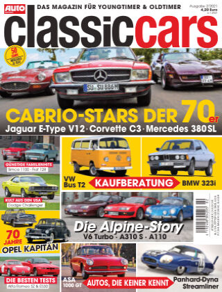 Auto Zeitung Classic Cars NR.02 2021