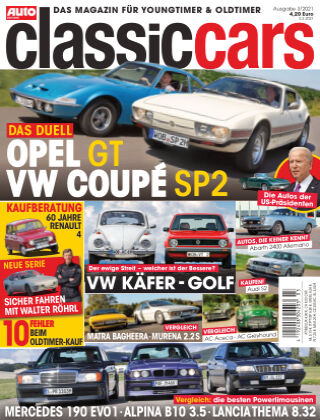 Auto Zeitung Classic Cars NR.03 2021