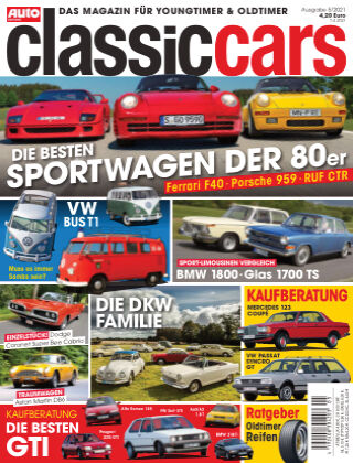 Auto Zeitung Classic Cars NR.05 2021
