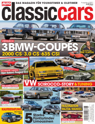 Auto Zeitung Classic Cars NR.06 2021