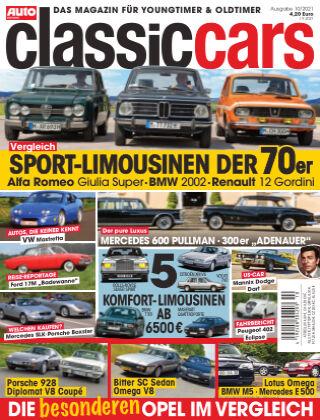 Auto Zeitung Classic Cars NR.10 2021
