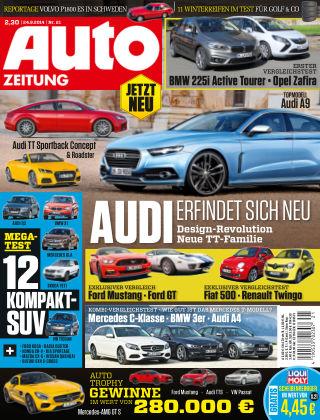Auto Zeitung NR.21 2014