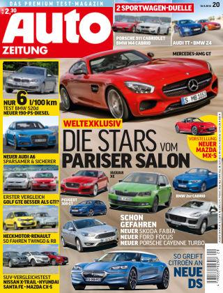 Auto Zeitung NR.20 2014