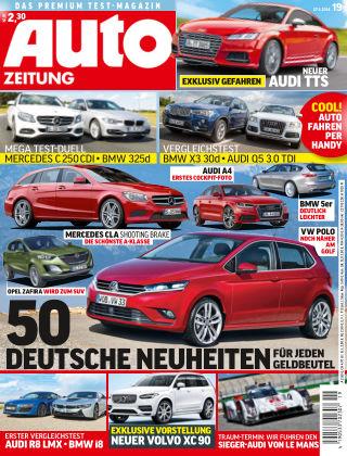 Auto Zeitung NR.19 2014