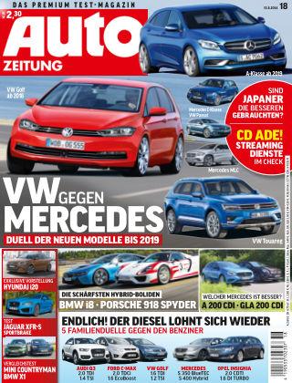 Auto Zeitung NR.18 2014
