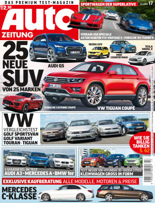 Auto Zeitung NR.17 2014