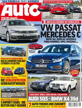 Auto Zeitung NR.16 2014