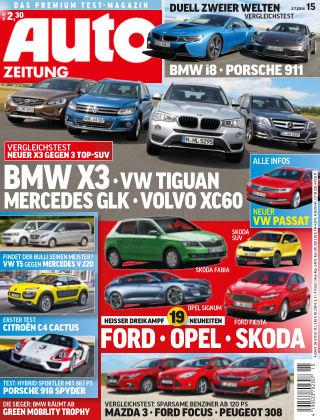 Auto Zeitung NR.15 2014