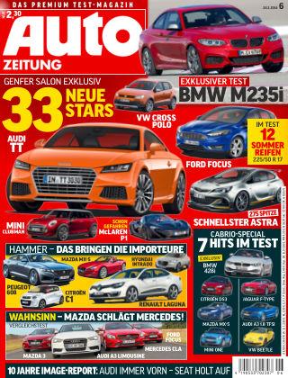 Auto Zeitung NR.6 2014