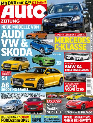 Auto Zeitung NR.7 2014