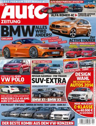 Auto Zeitung NR.4 2014