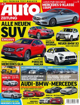 Auto Zeitung NR.5 2014