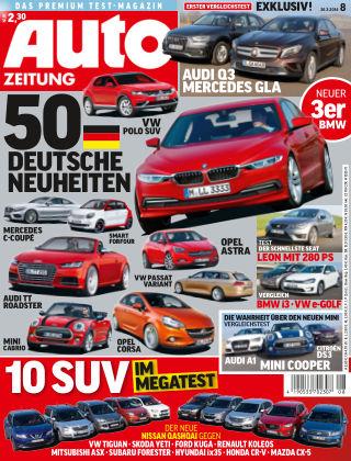 Auto Zeitung NR.8 2014
