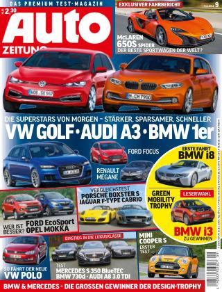 Auto Zeitung NR.9 2014