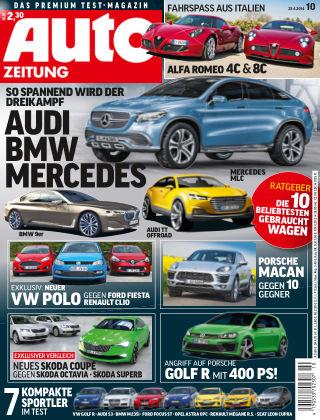 Auto Zeitung NR.10 2014