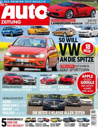 Auto Zeitung NR.11 2014