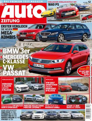 Auto Zeitung NR.12 2014