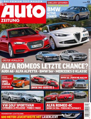 Auto Zeitung NR.13 2014