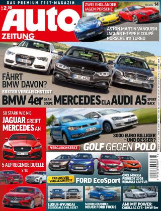 Auto Zeitung NR.14 2014