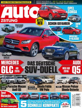 Auto Zeitung NR.23 2014