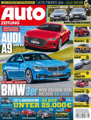 Auto Zeitung NR.25 2014