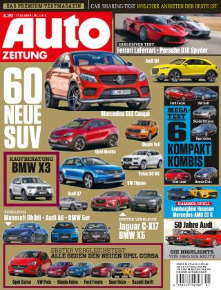 Auto Zeitung NR.1&2 2015