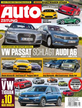 Auto Zeitung NR.7 2015