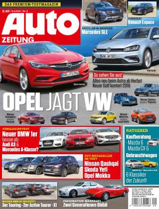 Auto Zeitung NR.9 2015