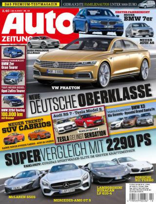 Auto Zeitung NR.10 2015