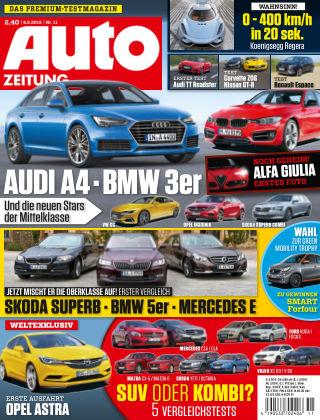 Auto Zeitung NR.11 2015