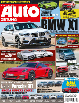 Auto Zeitung NR.13 2015