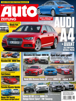 Auto Zeitung NR.15 2015