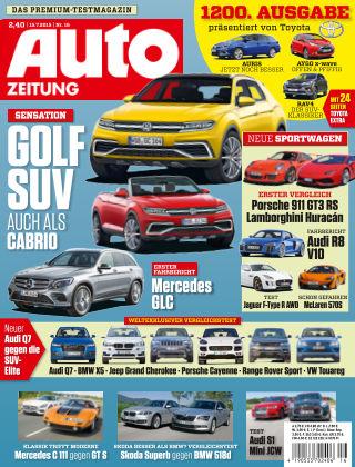 Auto Zeitung NR.16 2015