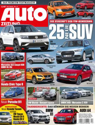 Auto Zeitung NR.17 2015