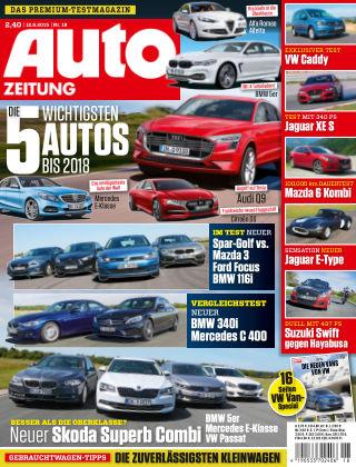 Auto Zeitung NR.18 2015