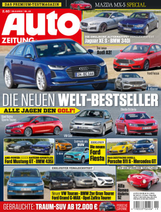 Auto Zeitung NR.19 2015