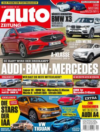 Auto Zeitung NR.20 2015