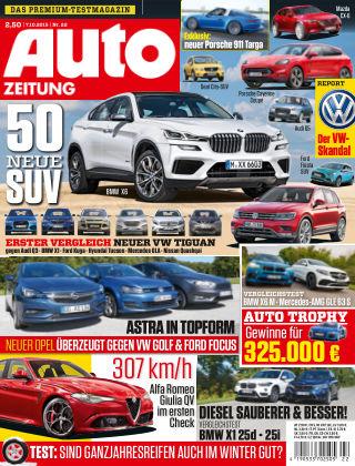 Auto Zeitung NR.22 2015