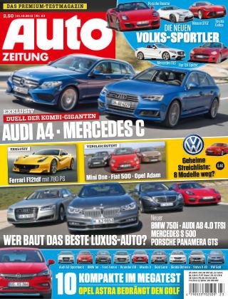 Auto Zeitung NR.23 2015